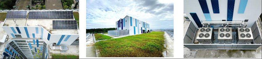 新設建築內裝創新節能新概念(第一學生宿舍)。 臺科大/提供