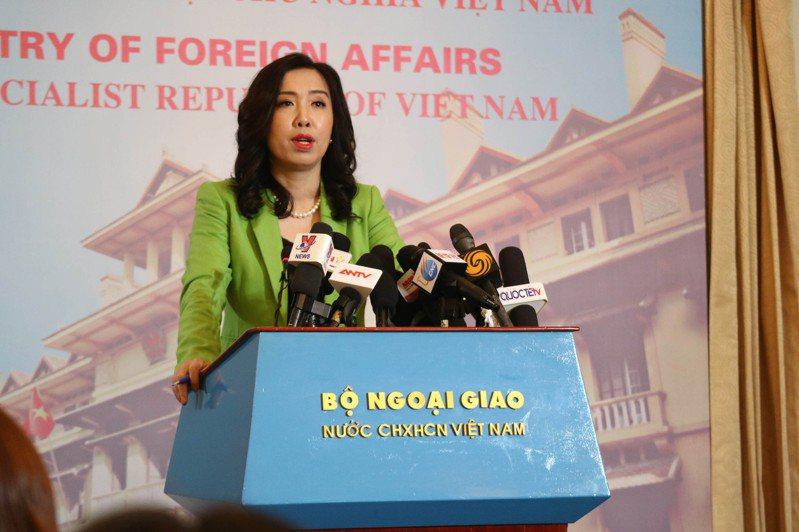 面對旅客在疫情期間入境越南被收取「咖啡錢」,越南外交部發言人黎氏秋姮3日在例行記者會上發出譴責,並稱這些行為將依法受到嚴懲。圖/中央社