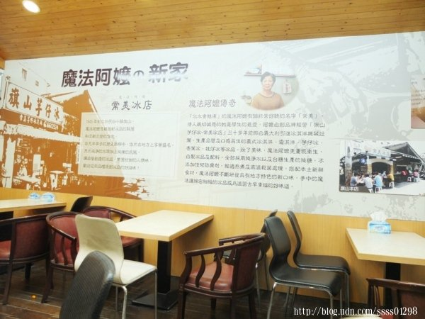 【常美冰店(魔法阿嬤的新家)】故事牆,將老店走來70多年的歷史流轉記錄下來