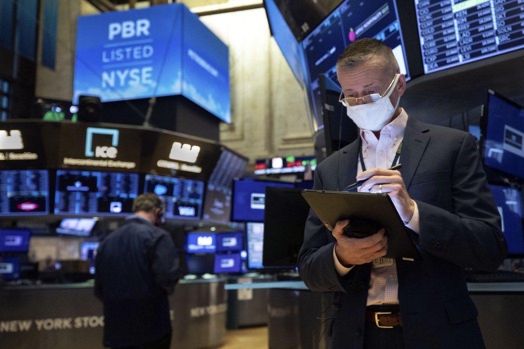 美股標普500指數連兩天創新高。(美聯社)