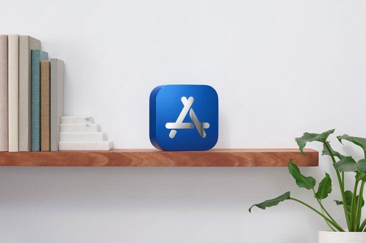 App Store 2020年度最佳獎實體獎座,創作靈感來自App Store標...