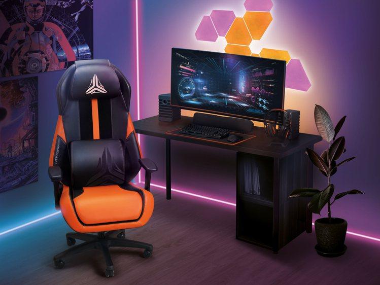 OSIM首創電競按摩椅,專利V手按摩科技結合人體工學椅,帶領玩家及久坐族坐出新「...