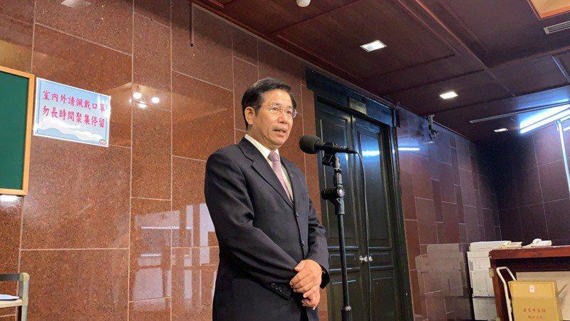 教育部長潘文忠。記者趙宥寧/攝影