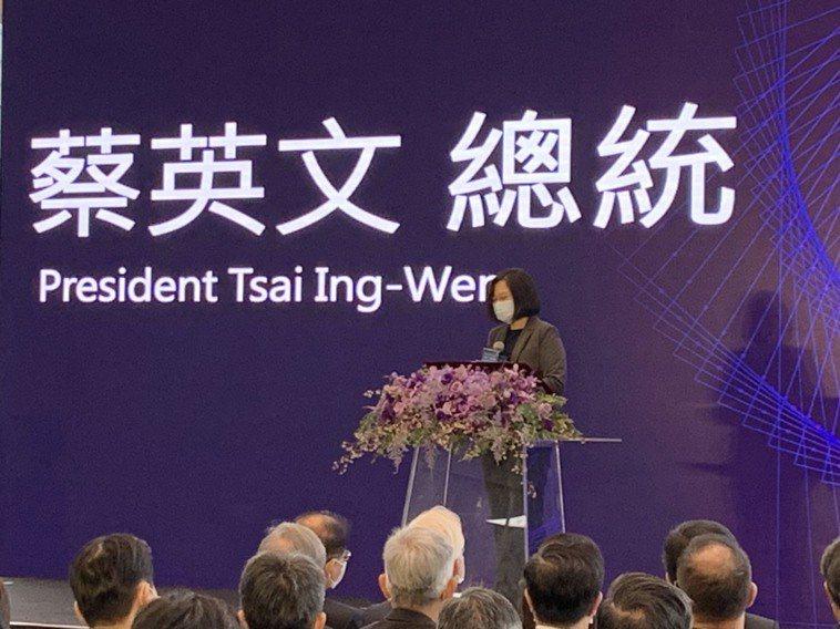 台灣醫療科技展今開幕,總統蔡英文今出席開幕典禮,期許台灣能成為「全球數位醫療轉型...
