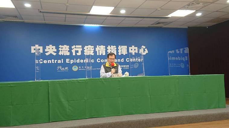 中央流行疫情指揮中心發言人莊人祥12月3日表示,新增一例新冠肺炎境外移入個案。記...