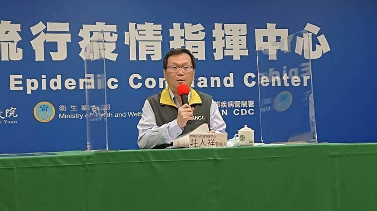莊人祥表示,會盡快改善溝通過程。記者陳婕翎/攝影