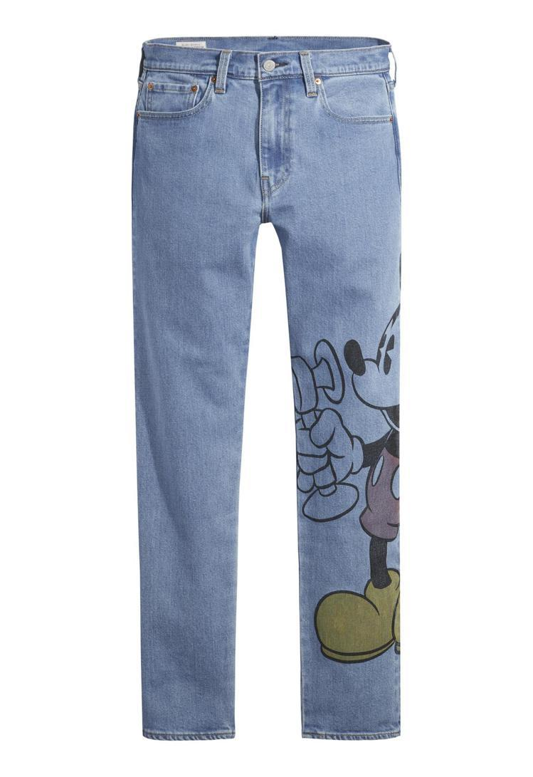 LEVI'S與迪士尼合作系列502™ 舒適錐型窄管牛仔褲4,390元。...