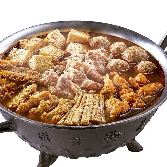 這一鍋御膳麻辣鍋套餐,7-ELEVEN預購價999元。圖/7-ELEVEN提供