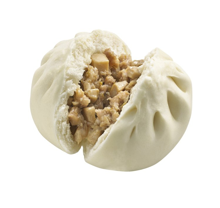 萊爾富推出鮮香麻油豚菇包,售價30元。圖/萊爾富提供