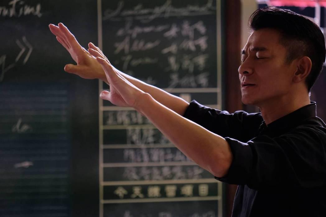 華仔飾演指揮家。圖/華映提供