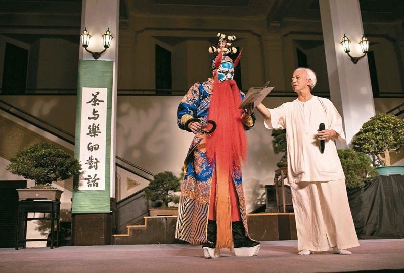 四季茶會:「茶與樂的對話」是書院的「定幕」活動,以茶與藝術的對應,接諸有緣,每次皆吸引大陸朋友專程而來。 (圖/金立旺攝影)