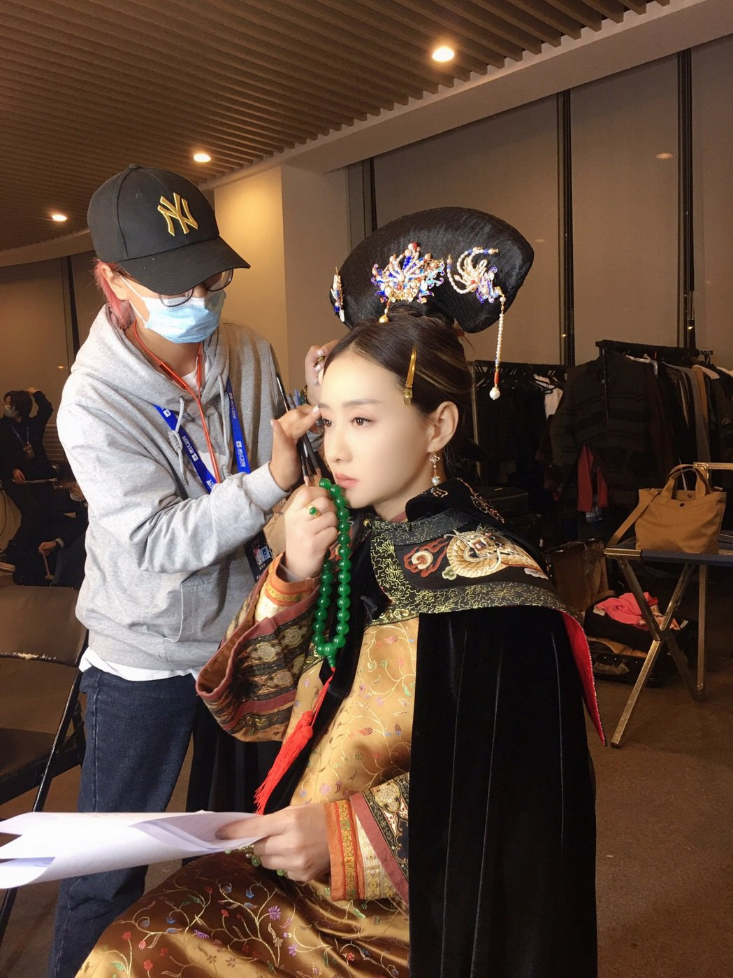 睽違15年,陳德容再度扮上古裝令人驚艷。圖/經紀人陳雅容提供