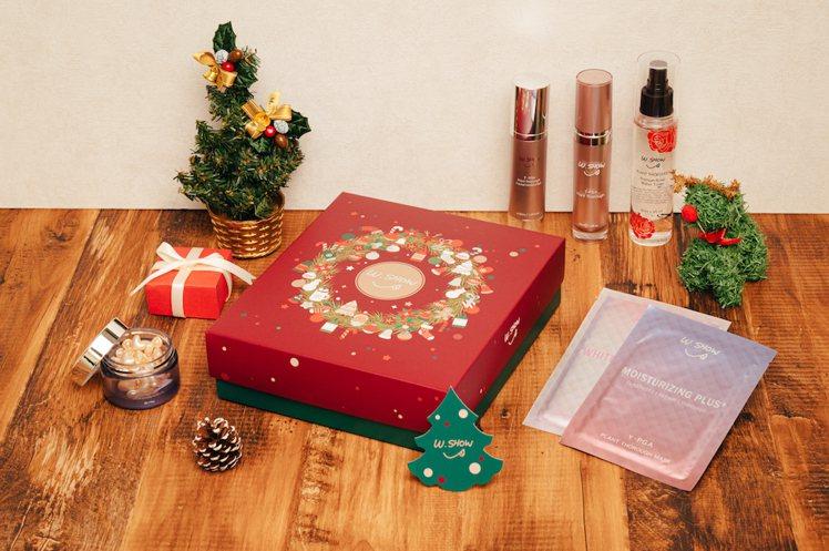 W.SHOW年末推出3款耶誕禮盒。圖/W.SHOW提供