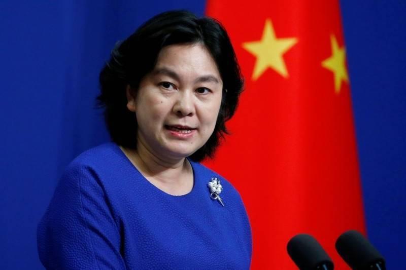 大陸外交部發言人華春瑩。圖/取自路透社