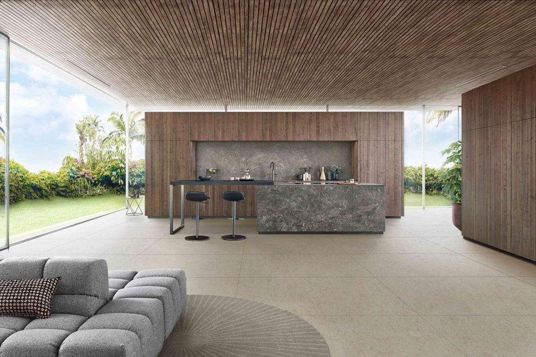 LEICHT推出全新廚具門板,充滿自然風格。圖/弘第HOME DELUXE提供