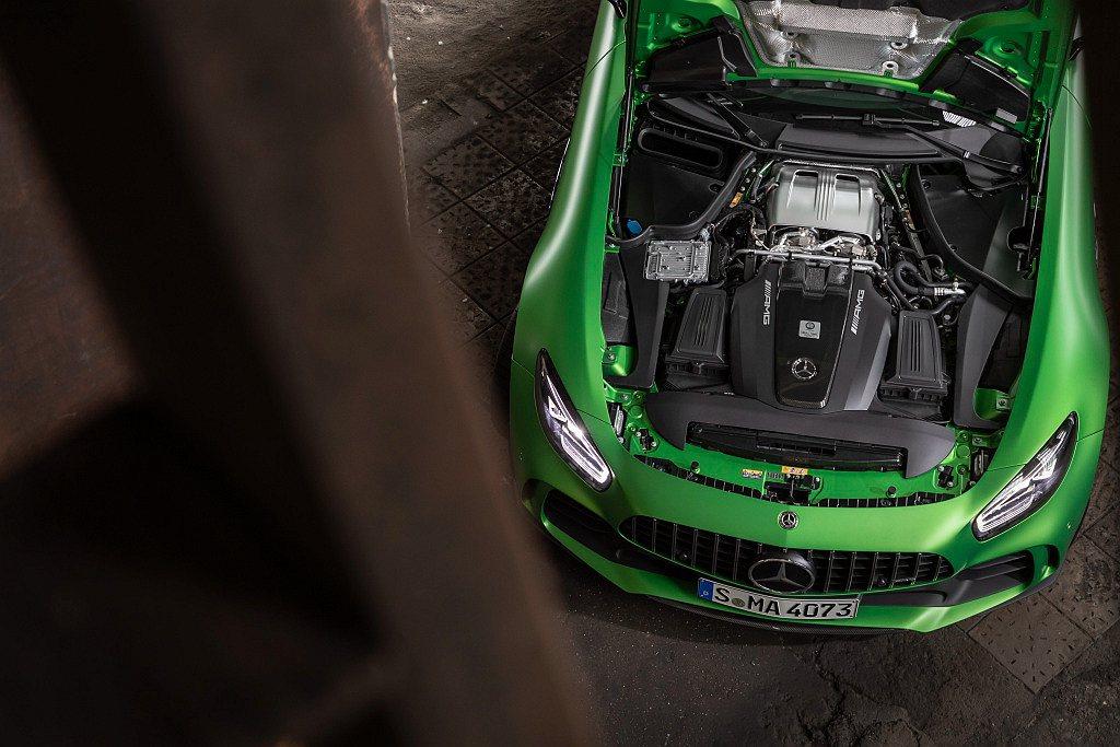 Mercedes-AMG GT、GT R搭載AMG最引以為傲的「One man,...