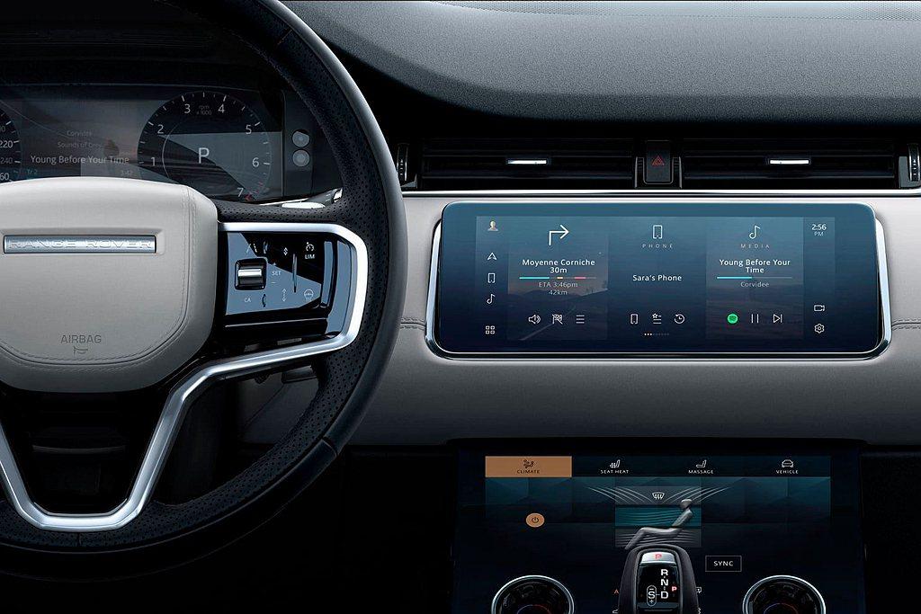 2021年式Land Rover Range Rover Evoque與 Dis...