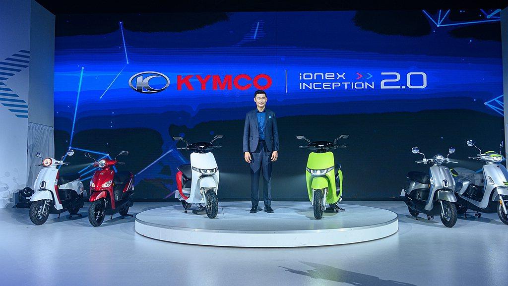 光陽集團董事長柯勝峯表示電動機車一直是未來發展趨勢,KYMCO Ionex車能網...