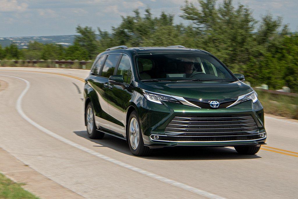 美規全新第四代Toyota Sienna售價公布。 圖/Toyota提供