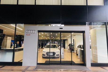 全台首座Audi都市概念展間!大安展示中心啟動試營運