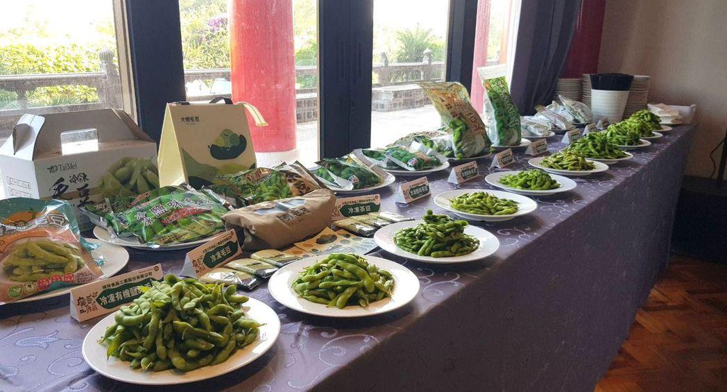 在台灣已有50年歷史的毛豆,種植面積有9000多公頃,其營養價值相當高,是值得推...