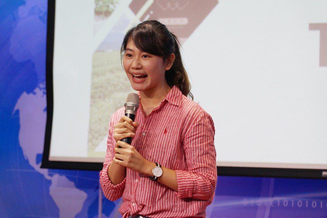 大葉大學造藝系畢業的林廷瑀,創立女兒不懂茶品牌。 大葉大學/提供。