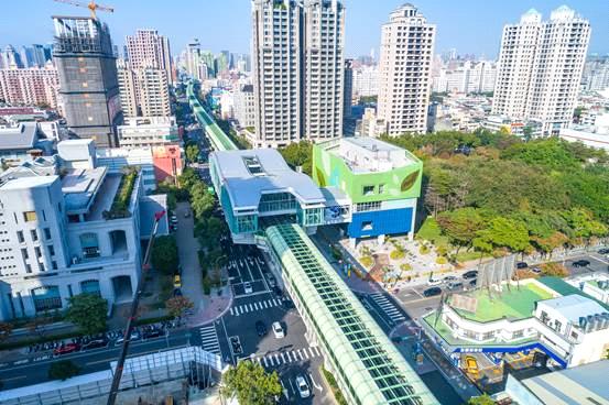 捷運綠線於年底正式通車,已是購屋參考指標之一。