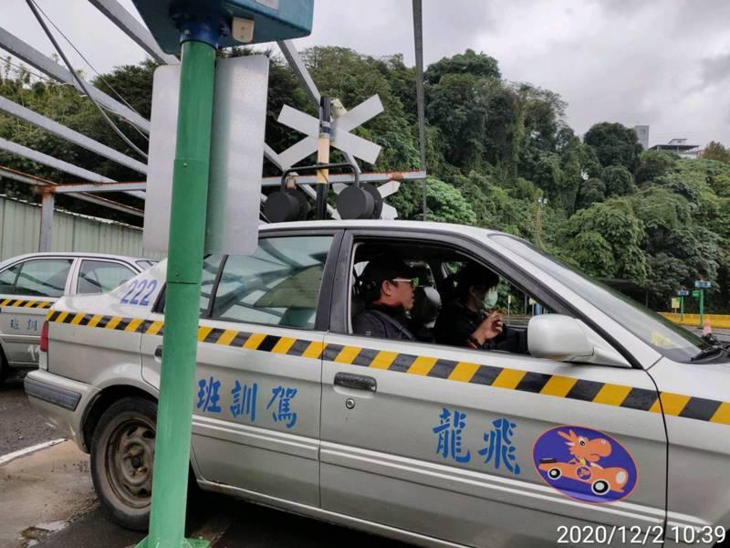 樹林分局員警特訓駕駛技術,盼減少意外發生。圖/新北市樹林分局提供