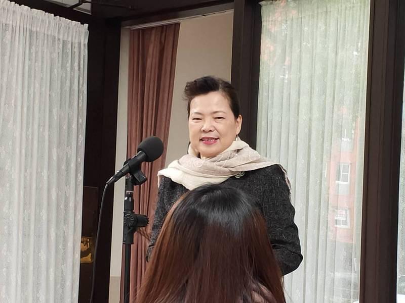 經濟部長王美花。記者徐偉真/攝影
