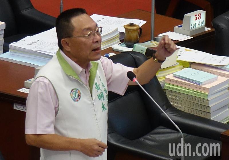 民進黨高雄市議員黃明太2日說,進口美豬,一些較貧窮的、經濟較不好的,多了一個選擇的機會。本報資料照片