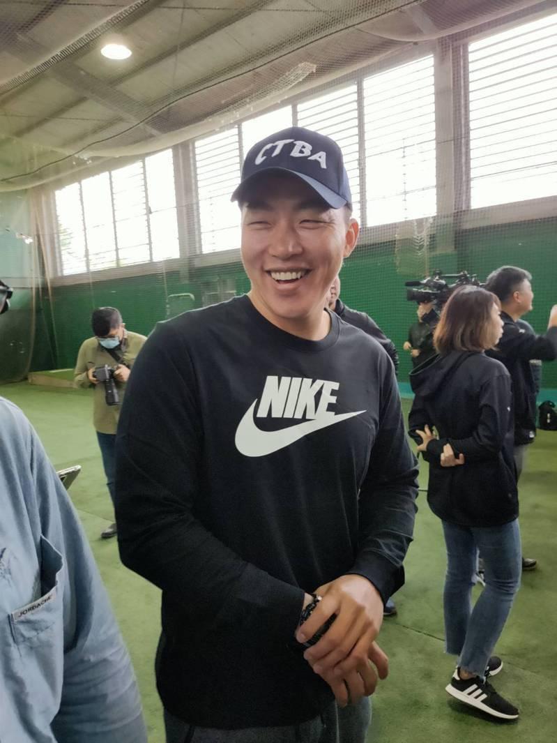 郭泓志澄清自己跟倪福德還是很好。記者婁靖平/攝影