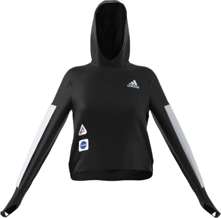 adidas Performance Space Race系列女款長袖連帽上衣1...