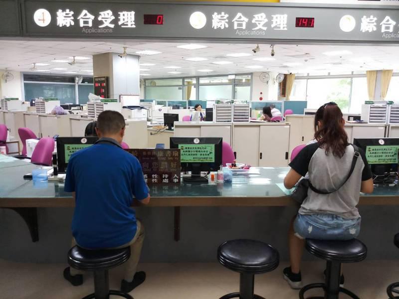 新竹市民政處戶政科官員表示,會如期在110年1月1日到6月30日試辦數位身分證。圖為新竹市北區戶政事務所,示意圖。圖/新竹市政府提供