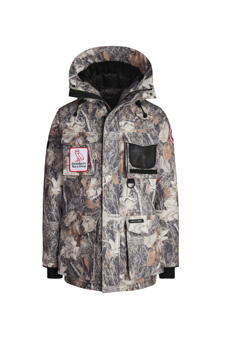 Canada Goose Terrain派克大衣41,200元。圖/Canda ...