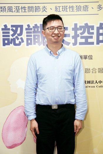劉志偉 台北榮總過敏免疫風濕科主治醫師 記者許正宏/攝影
