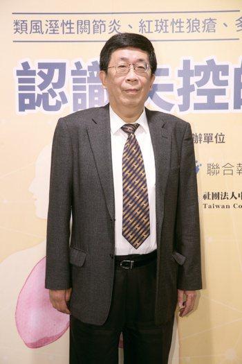 蔡長祐 中華民國風濕病醫學會理事長 記者許正宏/攝影