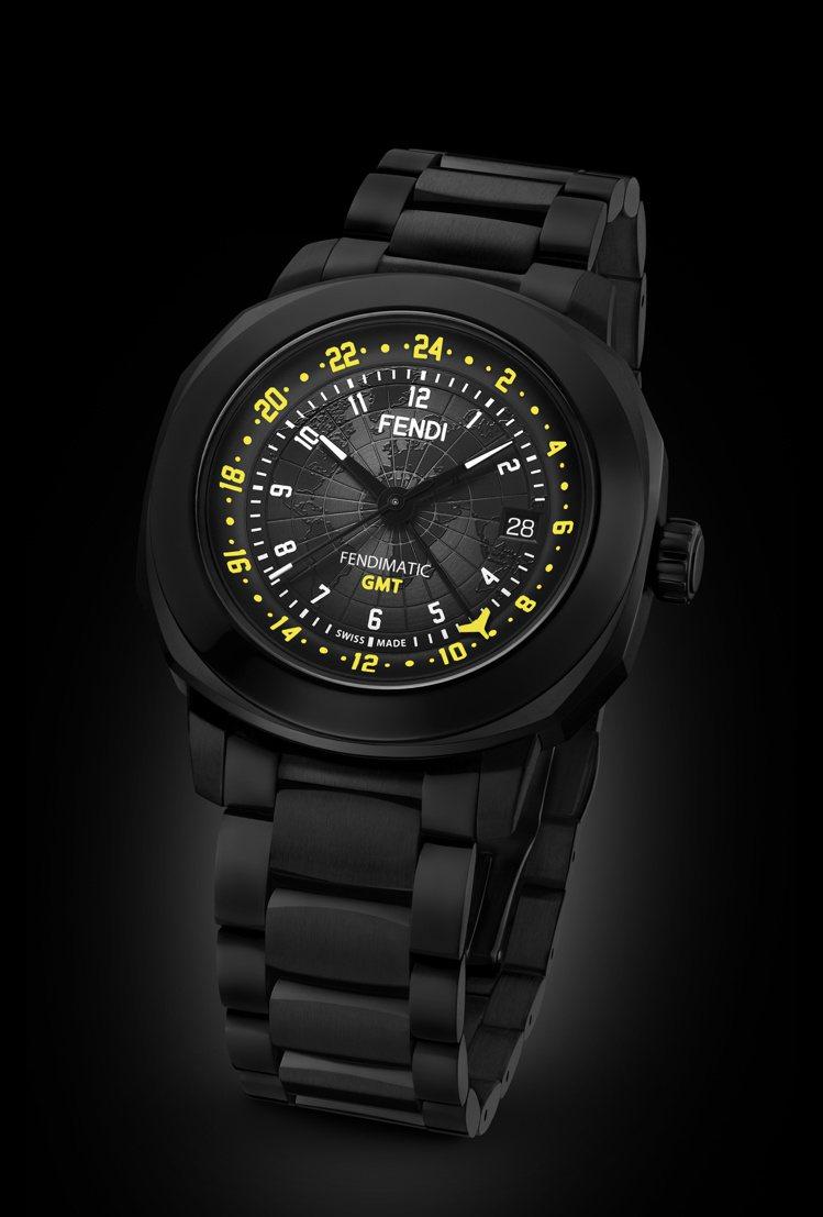 Fendi Timepieces Selleria Man GMT腕表,94,0...