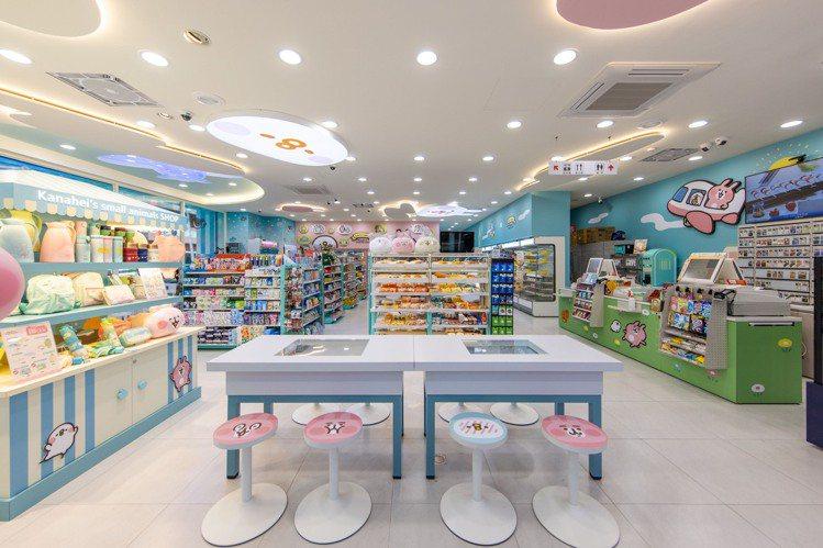 7-ELEVEN「卡娜赫拉的小動物聯名3號店」進駐桃園,12月5日正式開幕。圖/...