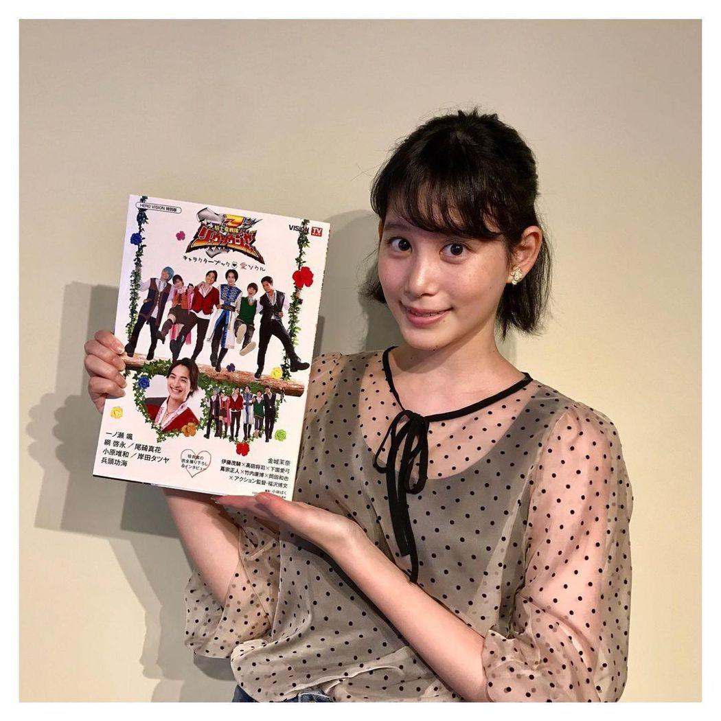 日本女星金城茉奈。圖/擷自IG