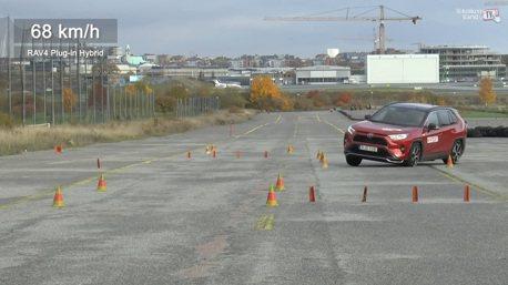 影/Toyota RAV4 Plug-in Hybrid的麋鹿測試成績令人驚訝!