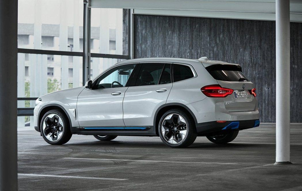 BMW iX3。 圖/BMW提供