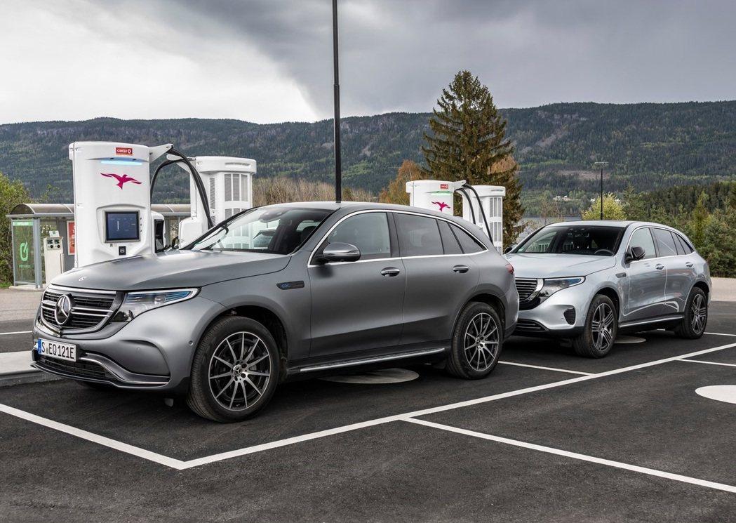 Mercedes-Benz EQC。 圖/Mercedes-Benz提供