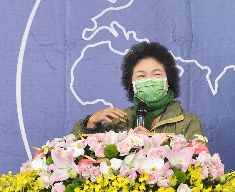 2020世界人權日典禮5日上午在白色恐怖景美紀念園區舉行,監察院長陳菊出席致詞。 中央社