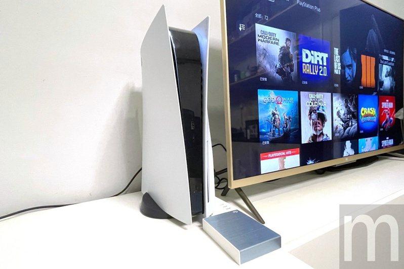 ▲Seagate One Touch HDD 5TB容量版本可以成為PlayStation 5的好朋友