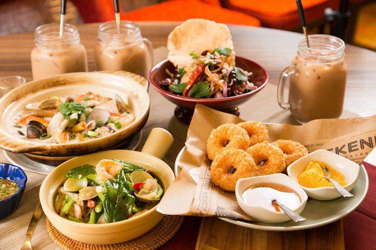 瓦城、非常泰獨家上市「南薑椰奶海鮮煲鍋」、「泰北香拌松阪豬」、「綠咖哩海鮮」、「...