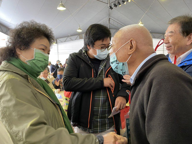 監察院長陳菊今出席在白色恐怖景美紀念園區舉辦的「2020年世界人權日」。記者葉冠妤/攝影