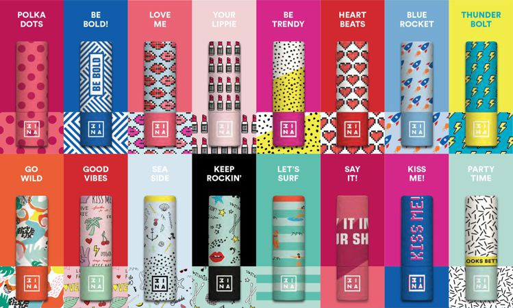 3INA FUN肆玩色唇盒經典常態16款。圖/3INA提供