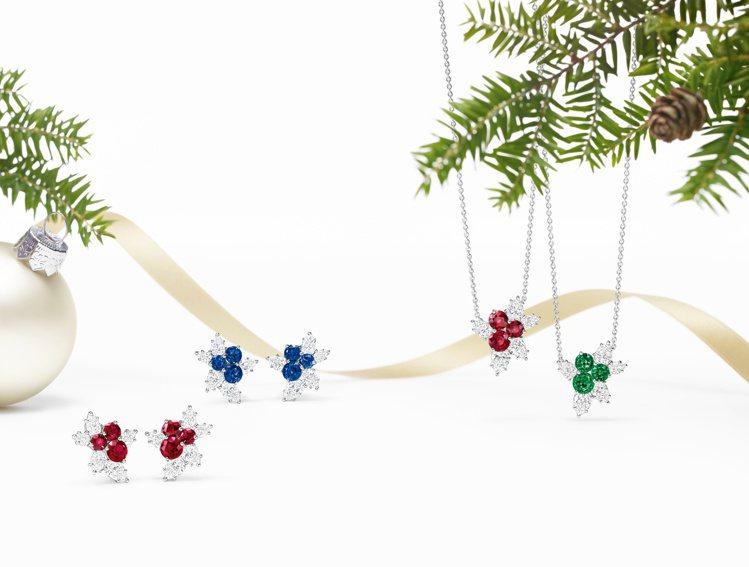 頂級珠寶品牌海瑞溫斯頓(Harry Winston)推出一系列推薦商品,將樹梢上...