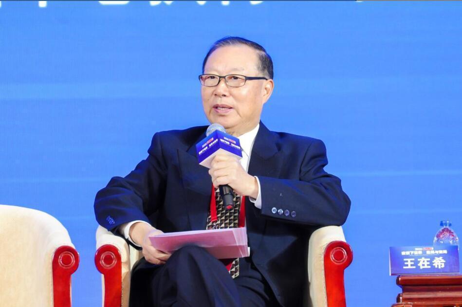 前大陸國台辦副主任王在希。圖:取自環球網