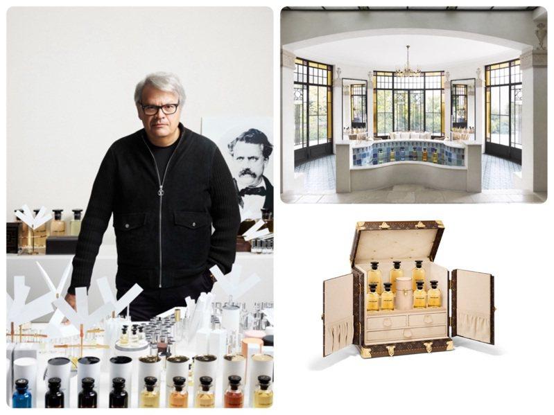 路易威登的香水世界開啟了個人的客製化訂製服務。圖/LV提供